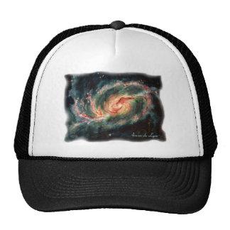 Barred Spiral Galaxy Trucker Hat