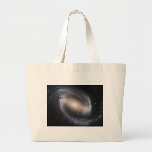 Barred Spiral NGC 1300 Canvas Bags