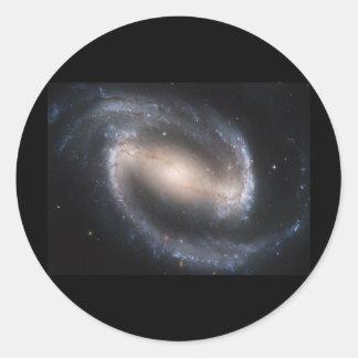 Barred Spiral NGC 1300 Classic Round Sticker