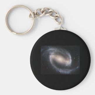 Barred Spiral NGC 1300 Keychain
