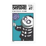 Barrel 1 postage stamp