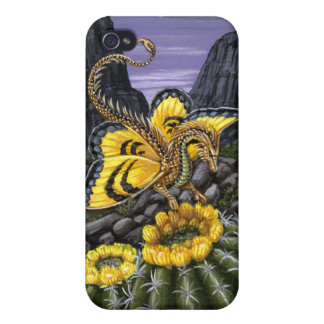 Barrel Cactus Dragon Fly Case For iPhone 4