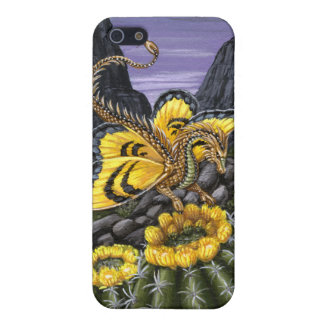 Barrel Cactus Dragon Fly Case For iPhone SE/5/5s