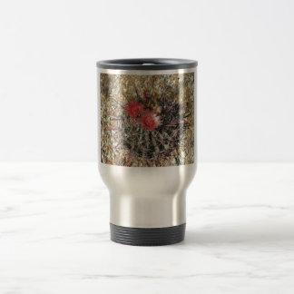 Barrel Cactus Fishhook Red Travel Mug