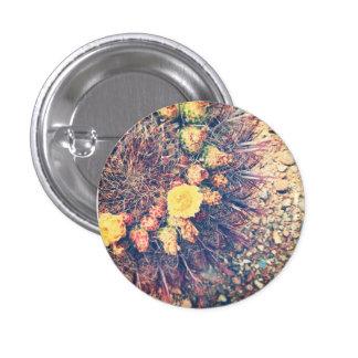 Barrel Cactus in Bloom Button