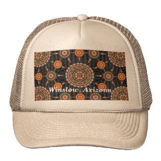 Barrel Cactus Mandala Array Hat