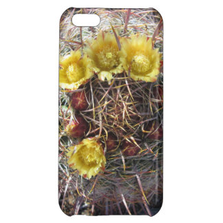 Barrel Cactus Plant Fishhook Yellow Cover For iPhone 5C