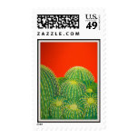 Barrel Cactus Stamps