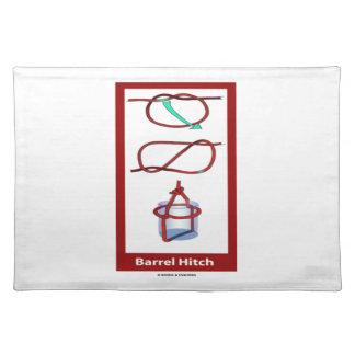 Barrel Hitch Barrel Sling (Knotology Tying Knots) Cloth Placemat