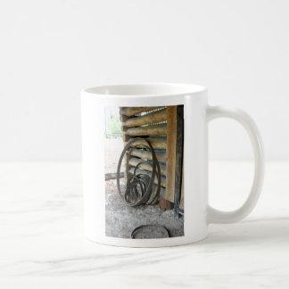 Barrel Hoops Classic White Coffee Mug