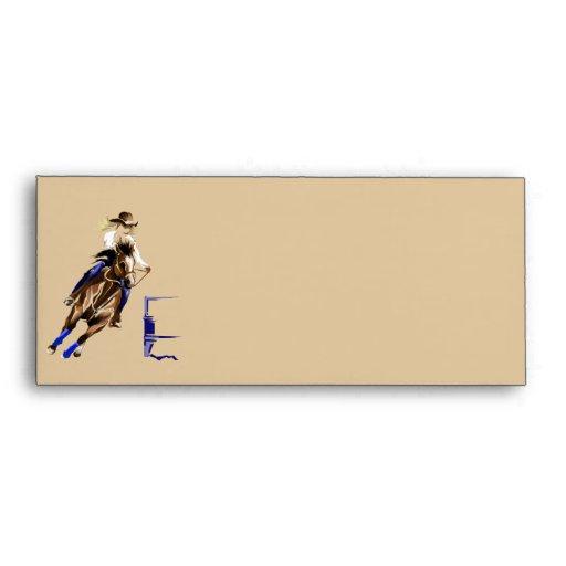 Barrel Horse Envelope