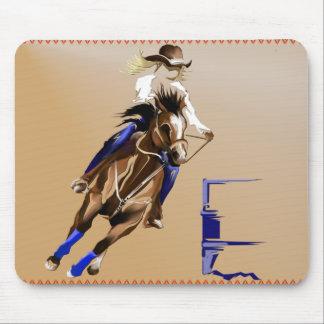 Barrel Horse_Mousepad Mouse Pad