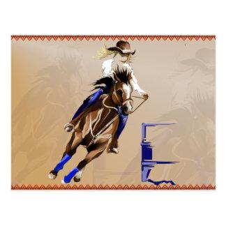 Barrel Horse-Post Card