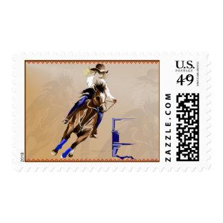 Barrel Horse Postage