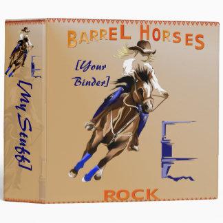 Barrel Horses Rock binder_2_back.v4. Binder