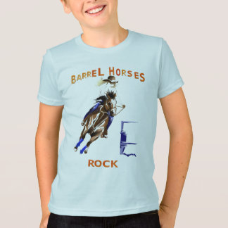 Barrel Horses Rock Shirts