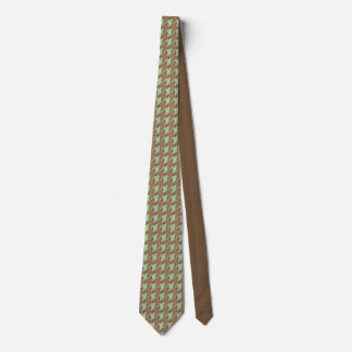 Barrel of Monkey's Houndstooth Pattern Neck Tie