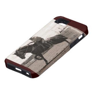 Barrel Race Sepia iPhone SE/5/5s Case