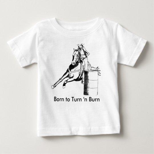 Barrel Racer 100 Baby T-Shirt