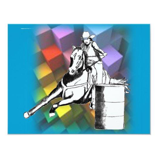 Barrel Racer 102 Card