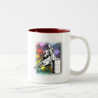 Barrel Racer 102 Two-Tone Coffee Mug