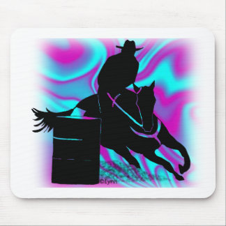 Barrel Racer 203 Mouse Pad