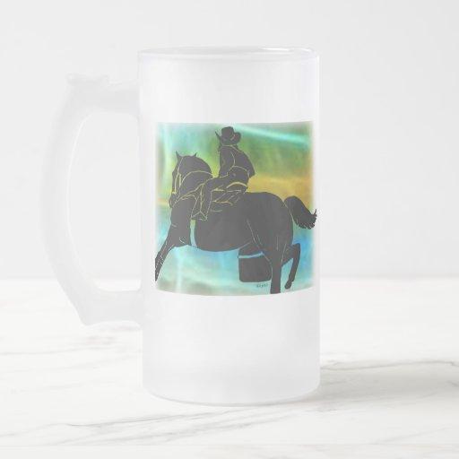 Barrel racer 404 coffee mug
