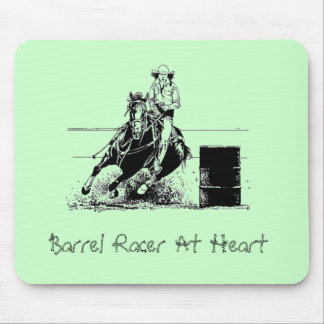 Barrel Racer At Heart Mouse Pad