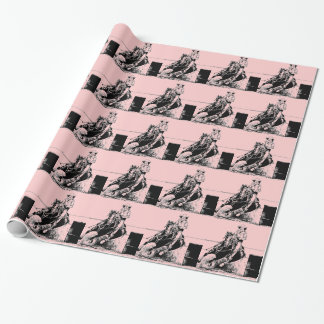 Barrel Racer At Heart Wrapping Paper