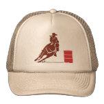 Barrel racer cap trucker hat