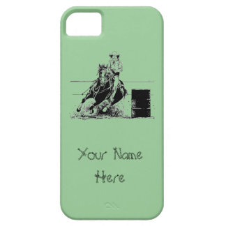 Barrel Racer iPhone 5/5S Covers
