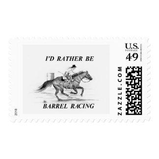 Barrel Racer Postage