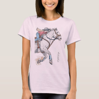 Barrel Racer Rider Like a Girl shirt