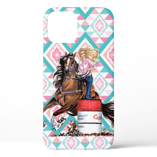 Barrel Racer Rodeo Phone Case Cover