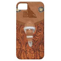 """Barrel Racer"" Western IPhone 5 Case"