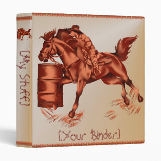 Barrel Racing binder_15_back.v4 3 Ring Binder