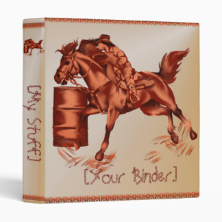 Barrel Racing binder_15_back.v4 Binder