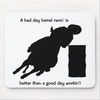Barrel Racing - BR V Work-Leaner Mouse Pads