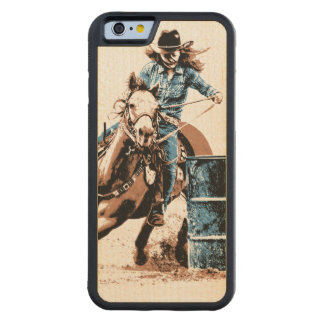 Barrel Racing Carved® Maple iPhone 6 Bumper Case