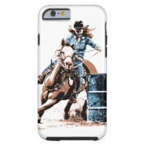 Barrel Racing Tough iPhone 6 Case