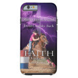 Barrel Racing cell phone case Tough iPhone 6 Case