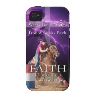 Barrel Racing cell phone case Vibe iPhone 4 Covers