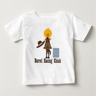 Barrel Racing Chick Infant Shirt