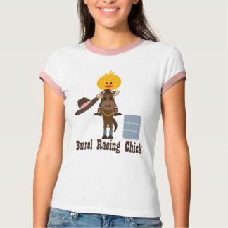 Barrel Racing Chick Shirt