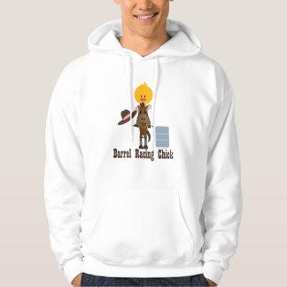 Barrel Racing Chick Sweatshirt