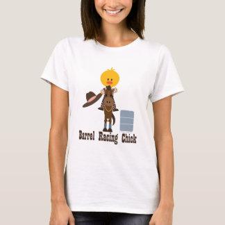Barrel Racing Chick T-shirt