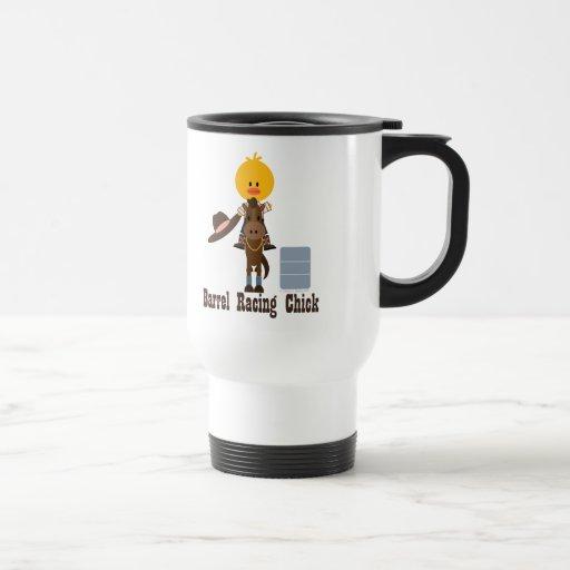 Barrel Racing Chick Travel Mug