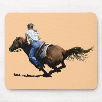 Barrel Racing - Coming In Hard Mouse Pad