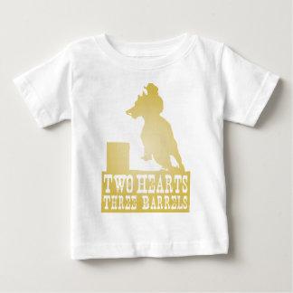 barrel racing cowgirl redneck horse baby T-Shirt