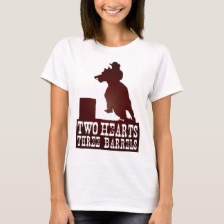 barrel racing cowgirl redneck horse T-Shirt